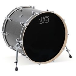 Drum Workshop Bassdrum Performance Pewter Sparkle