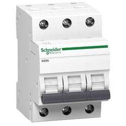 SCHNEIDER ELECTRIC WYŁĄCZNIK NADPRĄDOWY K60N 3P 20A C
