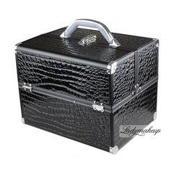 Kufer kosmetyczny A BLACK KROKODYL