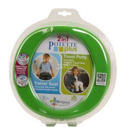 Potette Plus 2w1 nocnik turystyczny i nakładka na WC zielony