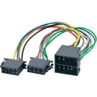 Adapter ISO do radia samochodowego AIV, pasuje do marki CIT/MER/OP/PE/RE