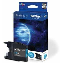 Brother oryginalny ink LC-1280XLC, cyan, 1200s, high capacity, Brother MFC-J6910DW