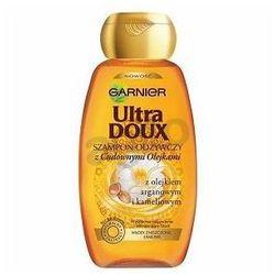 GARNIER Ultra Doux - szampon odżywczy z Cudownymi Olejkami do włosów zniszczonych 250ml