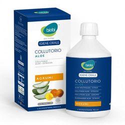 Płyn do płukania ust z wyciągiem z aloesu i olejkami cytrusowymi - Bjobj