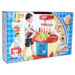 Zabawka SWEDE Kuchnia na baterie w walizce