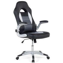 Krzeslo biurowe czarne - obrotowe - dla graczy - DEAN