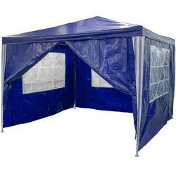 Pawilon ogrodowy Party 3 x 3 m niebieski 4 ścianki