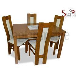 Zestaw JUKON II 4 krzesła i stół 80x120/150
