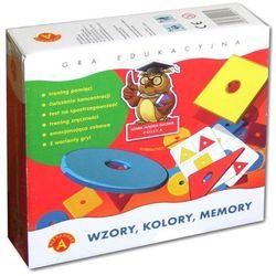 Alexander, gra Memory Wzory, Kolory