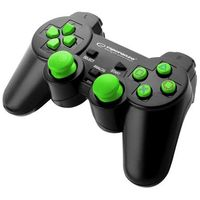 "Gamepad PS2/PS3/PC USB Esperanza ""Corsair"" czarno/zielony"