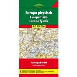 Europa mapa drogowa 1:3 500 000 (opr. twarda)