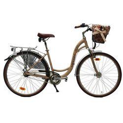 Maxim rower miejski MC 1.6.7 beżowy 18