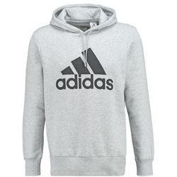adidas Performance Bluza z kapturem medium grey/black