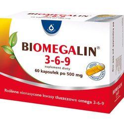 Biomegalin 3-6-9 kaps. 1 g 60 kaps.