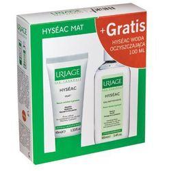 Uriage - Hyseac Mat + Hyseac Eau Nettoyante - Krem matujący + Woda oczyszczająca - 40 ml+ 100 ml