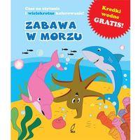 Zabawa na morzu książeczka do kąpieli -
