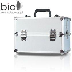 Kuferek kosmetyczny mały L srebrny – Neonail