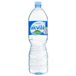 AKVILE 1,5l Naturalna woda mineralna niegazowana