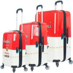 f9a65fcba0709 BG Berlin URBE zestaw walizek na 4 kółkach / komplet / walizki twarde /  Travel Soup