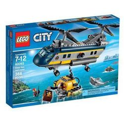 LEGO CITY 60093 HELIKOPTER BADAWCZY