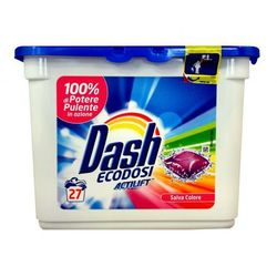 Kapsułki do prania 27 sztuk DASH