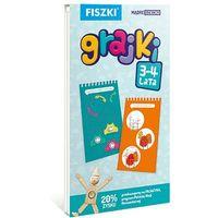 GRAJKI 3-4 lata - 160 zabaw edukacyjnych dla dzieci - Nauka przez zabawę