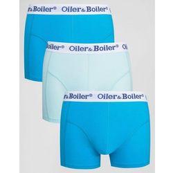 Oiler & Boiler Trunks 3 Pack - Blue