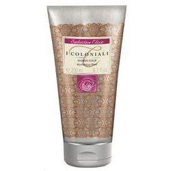 I COLONIALI Seductive Elixir zmyslowy peelingujacy zel pod prysznic Mysterious Rose/Tajemnicza Roza 200ml