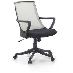 Krzeslo biurowe jasnoszare - fotel biurowy obrotowy - meble biurowe - ERGO