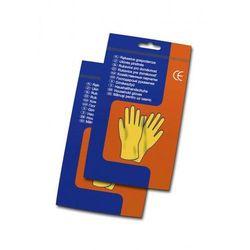 Rękawice gumowe gospodarcze rozm. XL (7548)