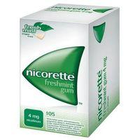 Nicorette Freshmint Gum -guma do żucia - 105 szt.