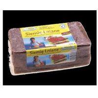 Chleb żytni pełnoziarnisty z siemieniem lnianym 500 g Benus