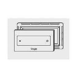 Płytka uruchamiająca Viega Visign for Style 12 szklana - szkło barwione/czarny (wzór 8332.4) 645 168