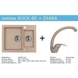 Zestaw AVLEUS ROCK 80 + DIANA (kolor BEŻOWY)