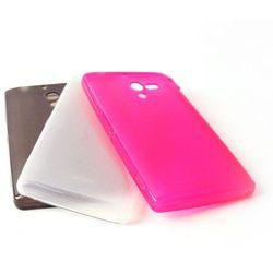 3 Obudowy Colla Glossy 3in1 Case TPU - różowa, biała i czarna - Sony Xperia ZL