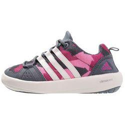 adidas Performance CLIMACOOL BOAT Obuwie do sportów wodnych onix/chalk white/pink