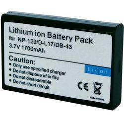 Akumulator - zamiennik do NP-120, 1800 mAh, 3,7 V