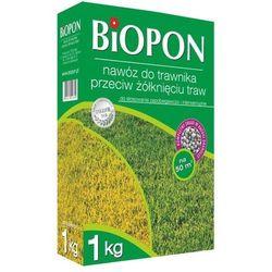Nawóz do trawy trawnika przeciw żółknięciu 1kg BIOPON