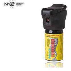 Gaz pieprzowy KOLTER-GUARD TORNADO 40 ml z latarką