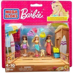 Klocki MEGA BLOKS Barbie Wakacje na plaży + Gwarancja dostawy przed Świętami!