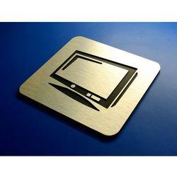 Piktogram, Symbol, Sala Telewizyjna 10 x10 cm IN