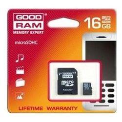 Goodram micro sd SDHC 16 GB + adapter