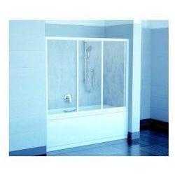 Drzwi Wannowe Ravak AVDP3 150 Biały + Grape 40VP0102ZG