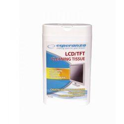 Esperanza Chusteczki czyszczące do ekranów LCD/TFT 100szt.