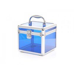 Kuferek Kosmetyczny S - Mini Przezroczysty Blue