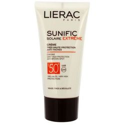 Lierac - Sunific Creme SPF 50+ - Krem ochronny SPF 50+ - 50 ml