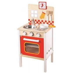 Kuchnia optymalna - drewniana kuchenka dla dzieci