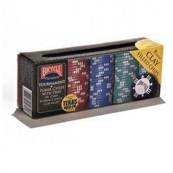 Żetony do pokera Premium Clay Poker Chips 100 8g - Bicycle