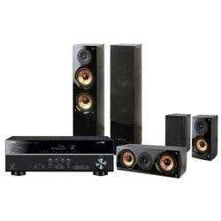 Kino domowe YAMAHA HTR-3068 + Pure Acoustics Nova 6 Czarny