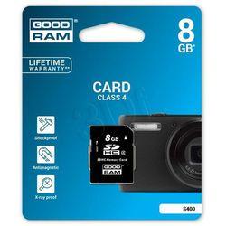 GOODRAM SD 8GB Class4 DARMOWA DOSTAWA DO 400 SALONÓW !!